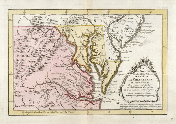 70-Mid-Atlantic, South and Southeast Map By A. Krevelt