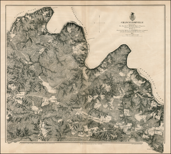 56-Southeast and Civil War Map By U.S. War Department