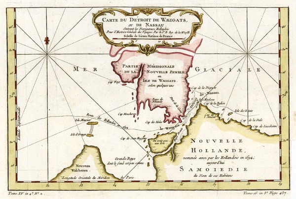55-Europe, Russia, Scandinavia and Balearic Islands Map By Jacques Nicolas Bellin