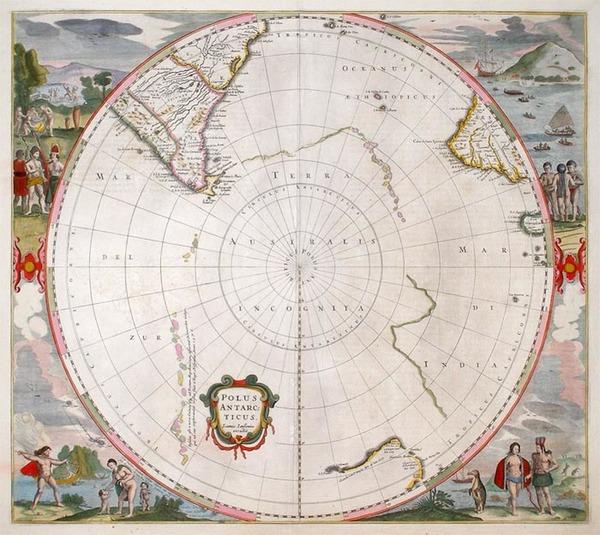 60-World, Polar Maps, Australia & Oceania, Pacific, Australia and New Zealand Map By Jan Janss
