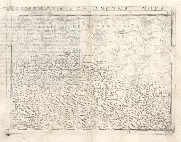 13-Europe and Italy Map By Giacomo Gastaldi