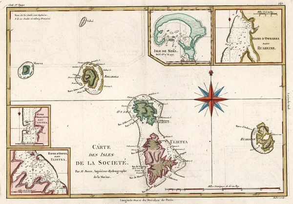 88-Australia & Oceania and Other Pacific Islands Map By Rigobert Bonne
