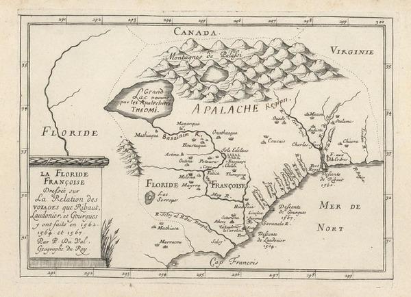 44-Southeast Map By Pierre Du Val