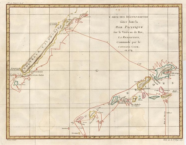 0-Australia & Oceania, Oceania and Other Pacific Islands Map By La Harpe