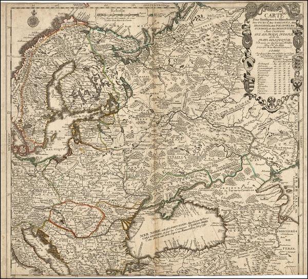 17-Europe, Europe, Poland, Russia and Scandinavia Map By Jean-Baptiste Nolin