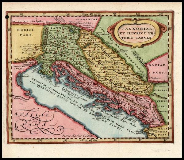72-Europe, Balkans and Italy Map By Jodocus Hondius - Mercator