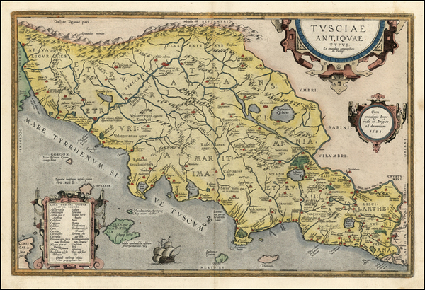 25-Europe and Italy Map By Abraham Ortelius