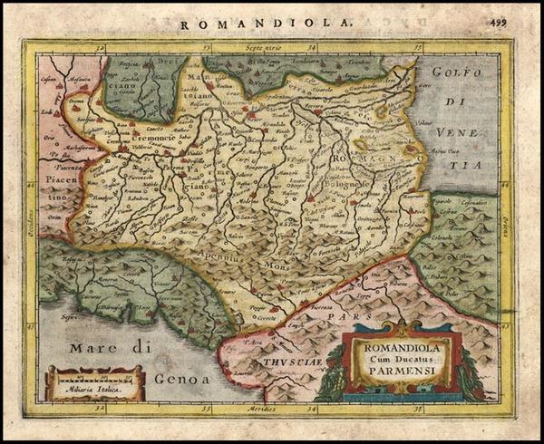 27-Europe and Italy Map By Jodocus Hondius - Gerhard Mercator