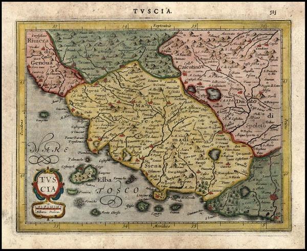 77-Europe and Italy Map By Jodocus Hondius - Gerhard Mercator