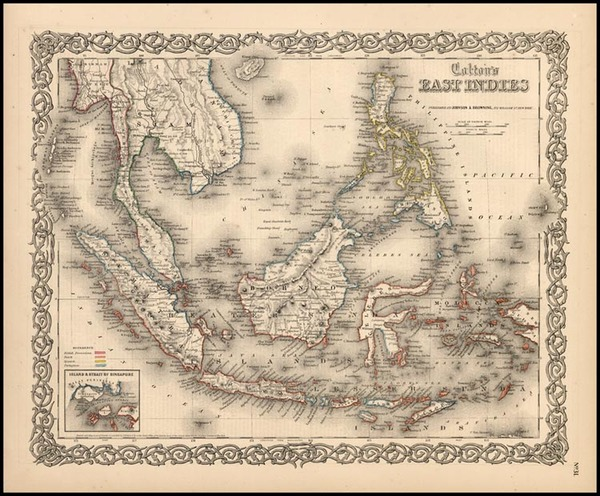 80-Asia, Southeast Asia, Australia & Oceania and Other Pacific Islands Map By Joseph Hutchins