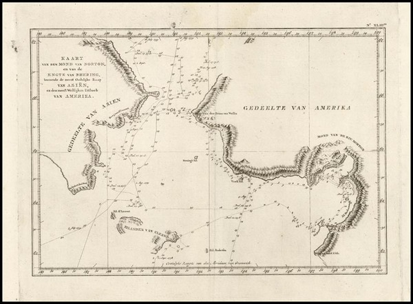 88-Alaska Map By James Cook
