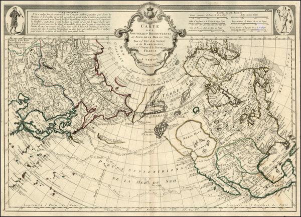 9-Alaska and North America Map By Paolo Santini