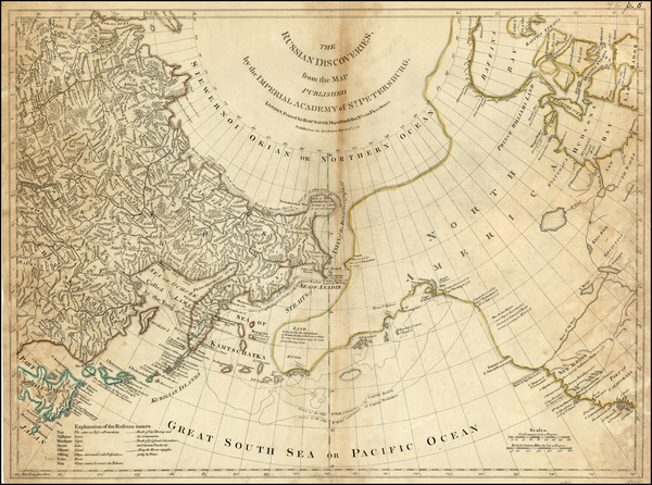 41-World, Alaska, Canada and Pacific Map By Robert Sayer