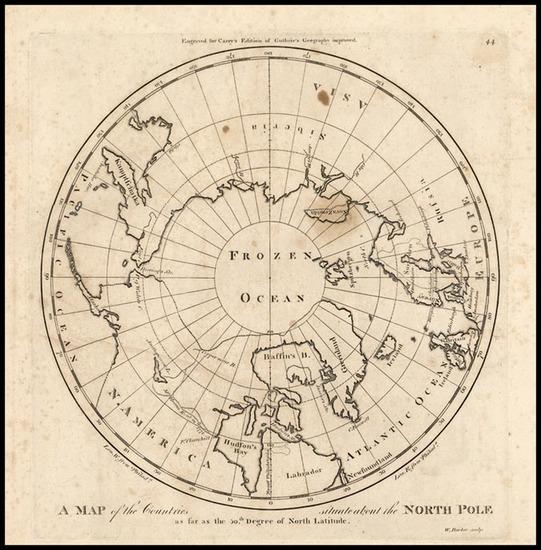 86-World, Polar Maps, Alaska and Canada Map By