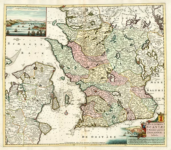 62-Europe and Scandinavia Map By Johannes Covens  &  Cornelis Mortier
