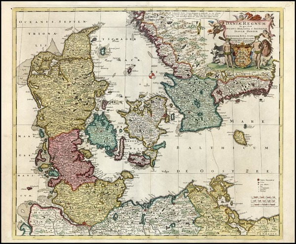 78-Europe and Scandinavia Map By Reiner & Joshua Ottens