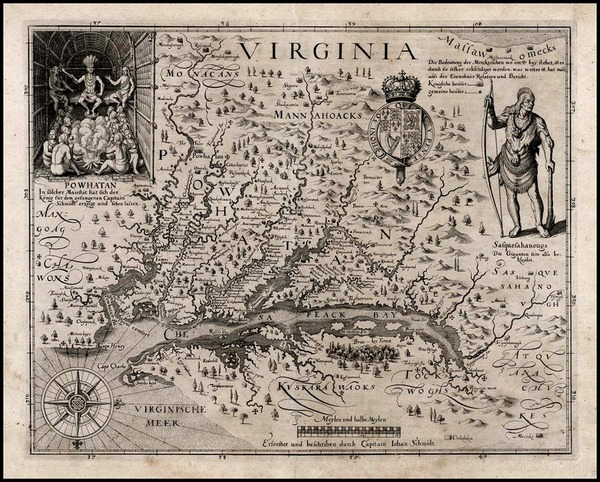 30-Mid-Atlantic and Southeast Map By John Smith