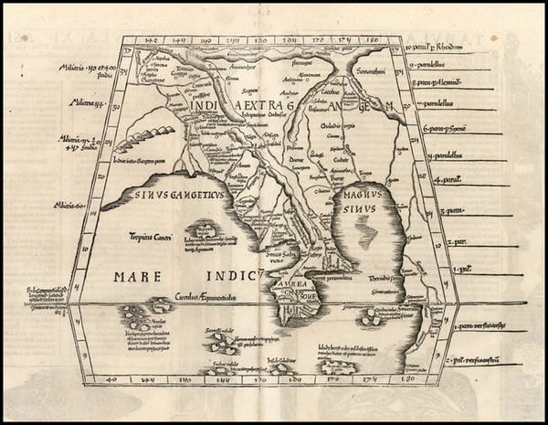 57-Asia, India and Southeast Asia Map By Lorenz Fries