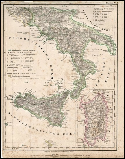 21-Europe and Italy Map By Carl Flemming