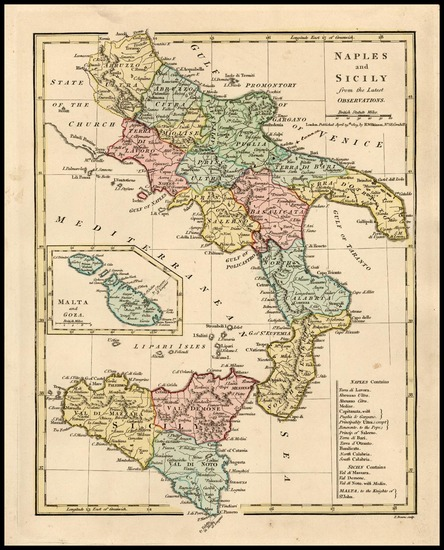 22-Europe, Italy and Balearic Islands Map By Robert Wilkinson
