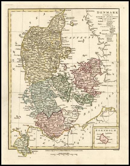 76-Europe and Scandinavia Map By Robert Wilkinson