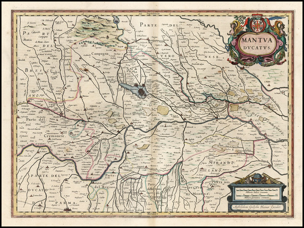 100-Italy Map By Willem Janszoon Blaeu