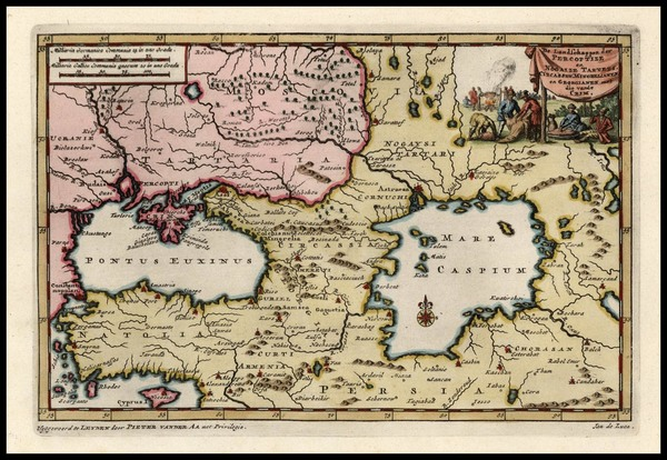 89-Europe, Russia, Ukraine, Balearic Islands, Asia and Central Asia & Caucasus Map By Pieter v