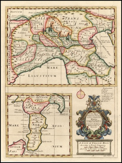 24-Europe, France and Italy Map By Edward Wells