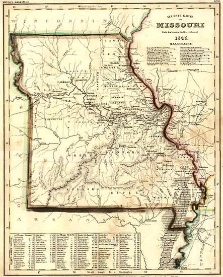 62-Midwest and Plains Map By Joseph Meyer