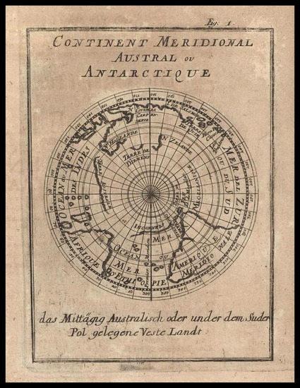 27-World, Southern Hemisphere, Polar Maps, Australia & Oceania, Australia and Oceania Map By A