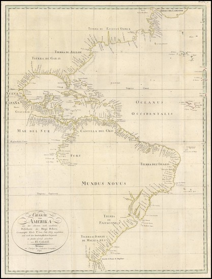 32-World, World, Western Hemisphere, North America, South America and America Map By Franz Ludwig