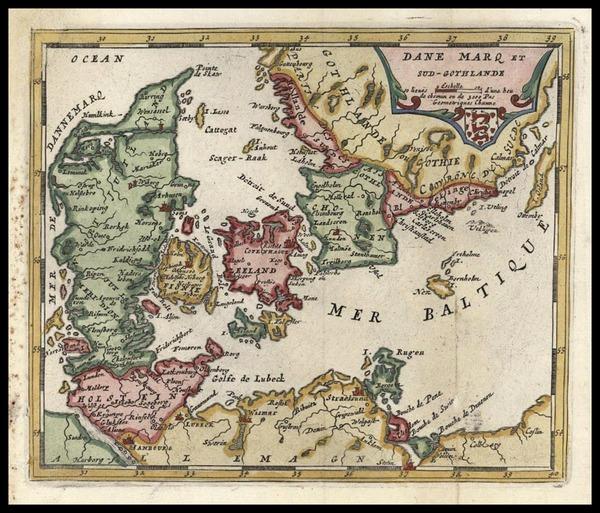 45-Europe and Scandinavia Map By Don Francisco De Afferden