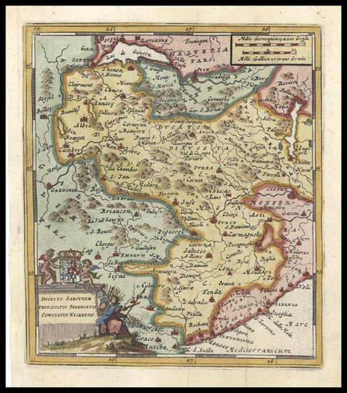 40-Europe and Italy Map By Don Francisco De Afferden