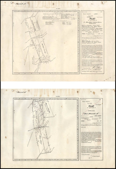 77-Southwest and Arizona Map By U.S. Surveyor General