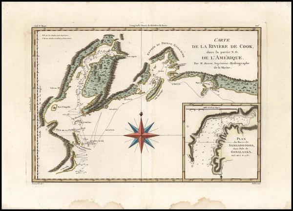 7-Alaska Map By Rigobert Bonne