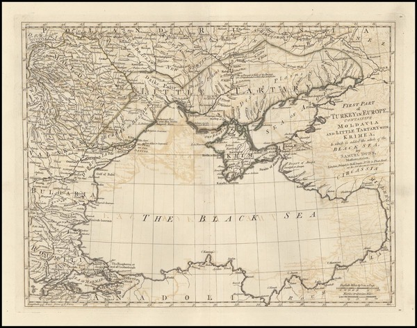 20-Europe, Russia, Ukraine, Romania, Balkans and Turkey Map By Samuel Dunn