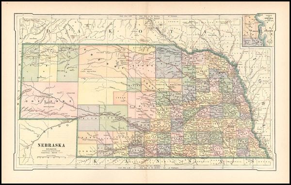 75-Midwest Map By Rand McNally & Company