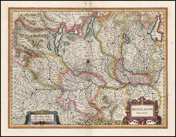 51-Europe and Italy Map By Willem Janszoon Blaeu
