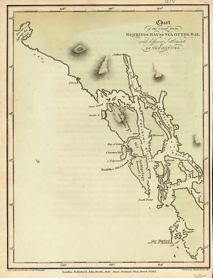 23-Alaska and Canada Map By Aaron Arrowsmith