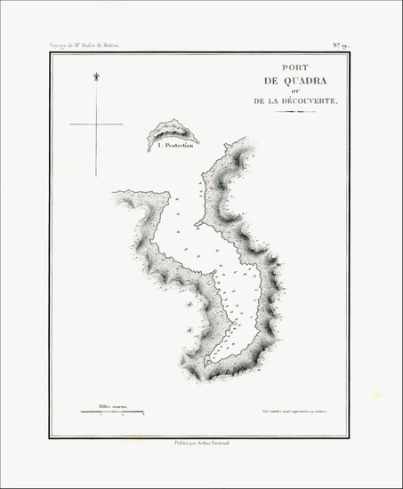15-Washington Map By Eugene Duflot De Mofras