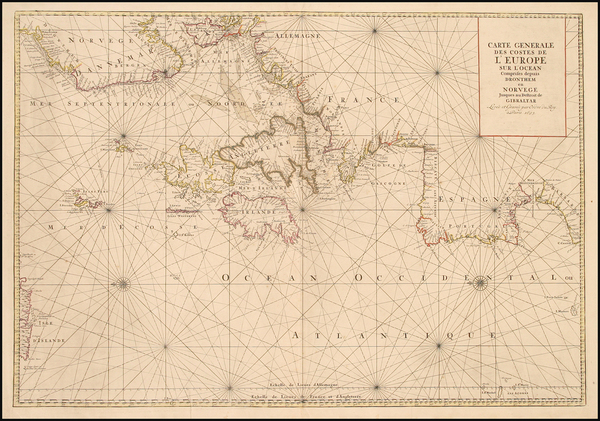 14-World, Atlantic Ocean, Europe, Europe, British Isles, France, Germany, Spain, Scandinavia and B