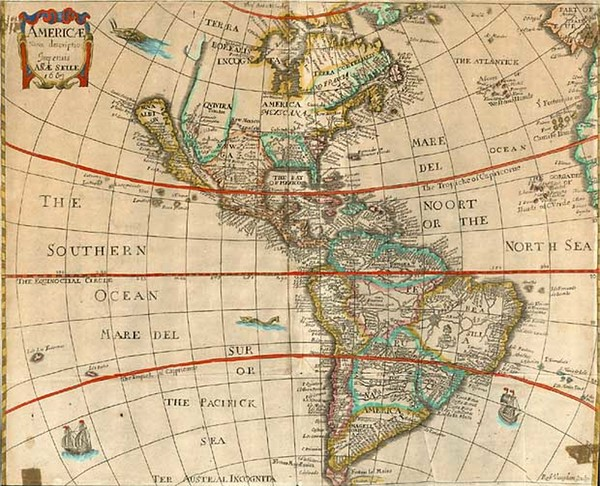 28-South America and America Map By Anna Seile