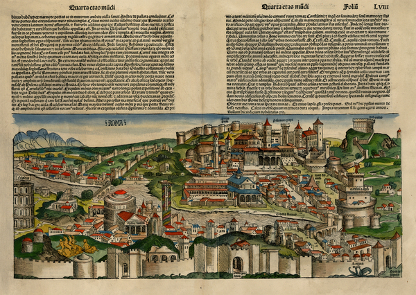 87-Europe and Italy Map By Hartmann Schedel