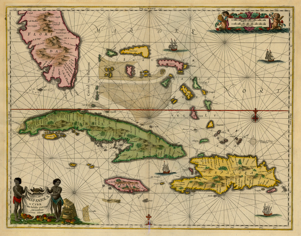 39-Southeast and Caribbean Map By Jan Jansson