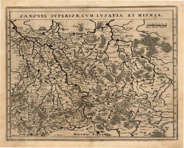 22-Germany and Czech Republic & Slovakia Map By Matthaus Merian