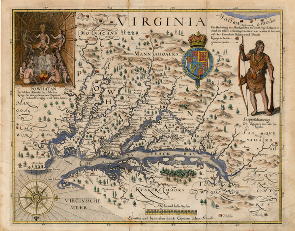 41-Mid-Atlantic, South and Southeast Map By John Smith