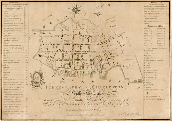 85-Southeast and South Carolina Map By Edmund Petrie