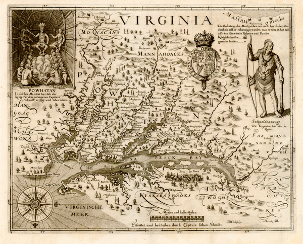 4-Mid-Atlantic, South and Southeast Map By John Smith