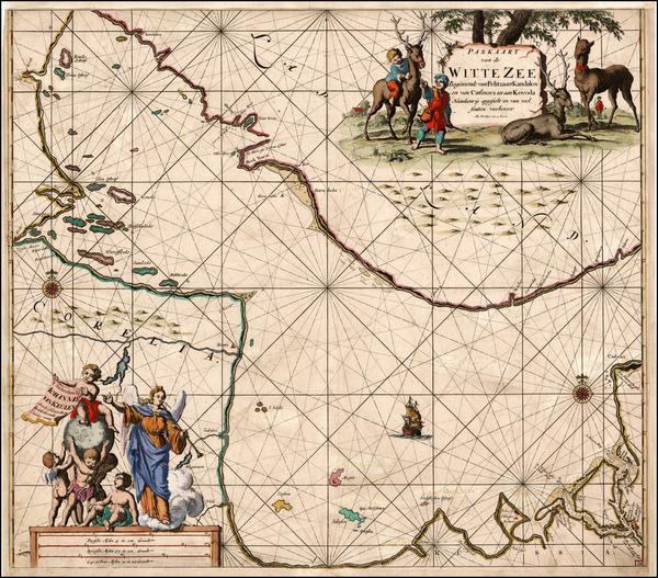 82-Russia and Scandinavia Map By Johannes Van Keulen