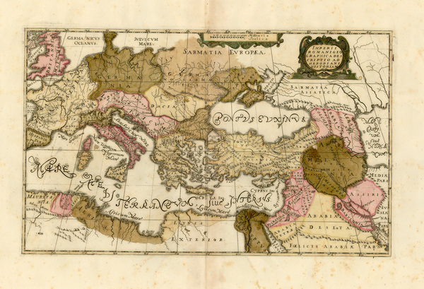 72-Europe, France, Italy, Spain, Greece and Balearic Islands Map By Anonymous